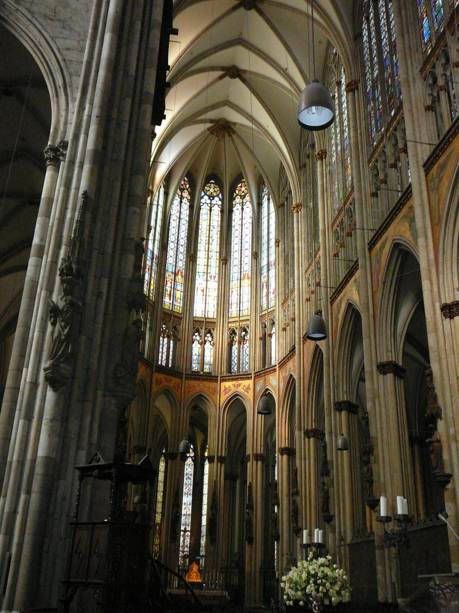 Interior photos cologne cathedral