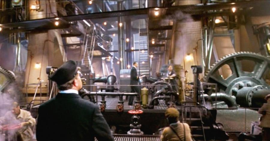 Titanic engine room photos