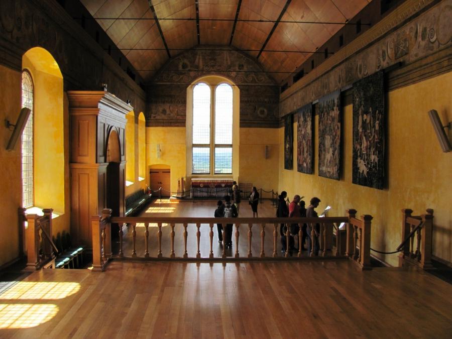 Interior photos of scottish castles