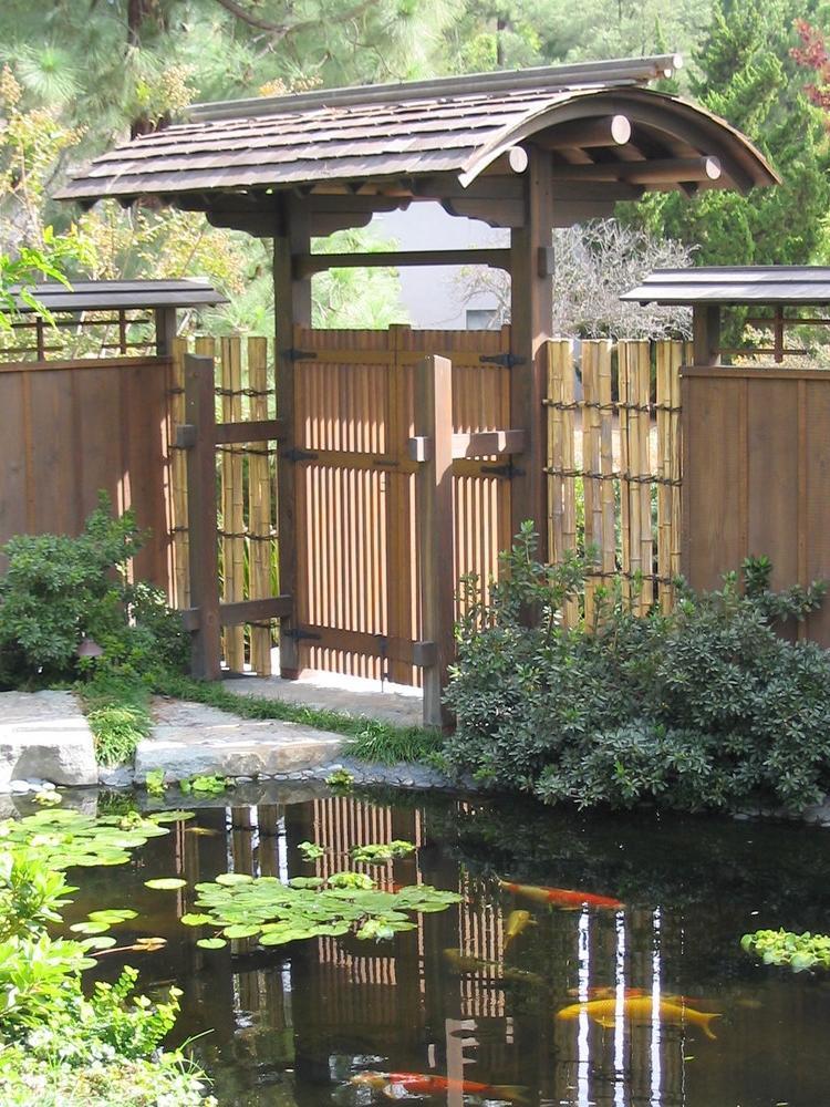 Japanese gate design photos