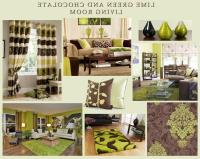 Lime green living room photos