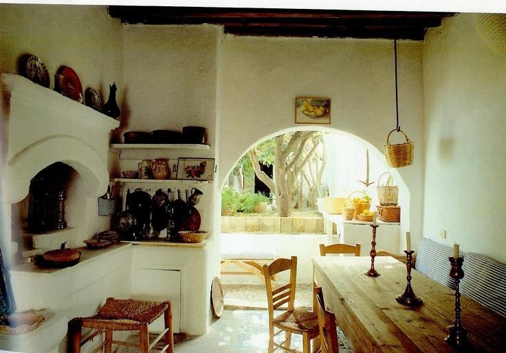 Greek kitchen design photos