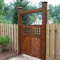 Gates and fences designs photos