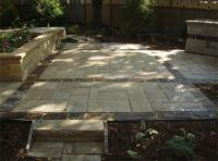 Natural stone patios photos
