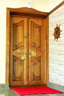 Kerala House Front Door Designs