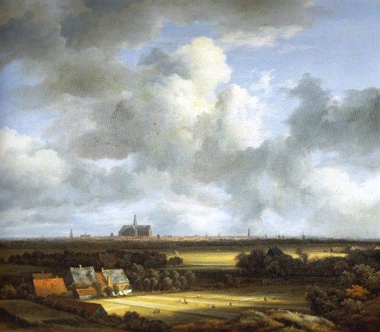 Van-Ruisdael-Haarlem-1672