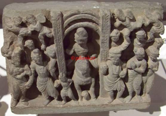 Grey Schist Gandhara (1-3rd century)