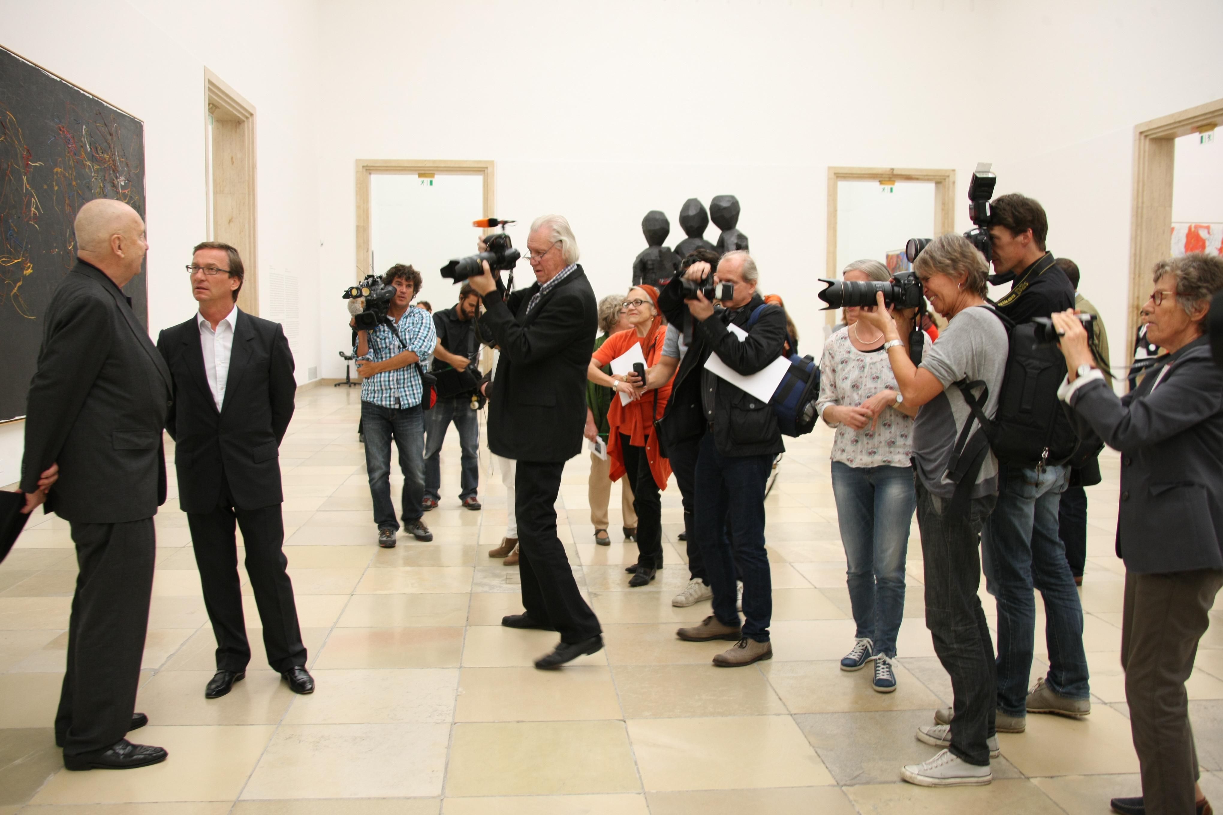 Georg Baselitz im Haus der Kunst  Photopraline  Bilder zum Vernaschen