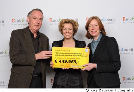 BankGiroLoterij ondersteunt Fotoweek