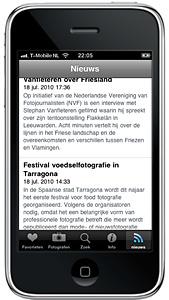PhotoQ-app nu met fotografienieuws