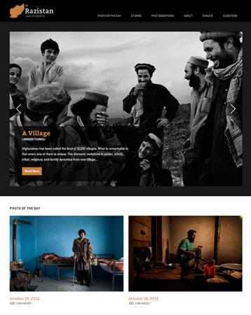 Website Razistan online