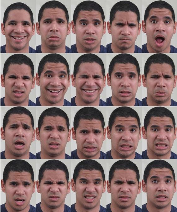 Wetenschappers leggen 21 uitdrukkingen van emoties vast