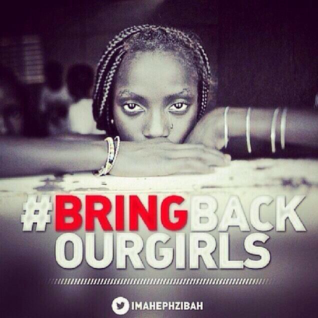 Campagne Bring Back Our Girls dubbel in fout met foto