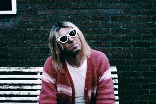 Zelfportret als Kurt Cobain / Foto Anton Corbijn