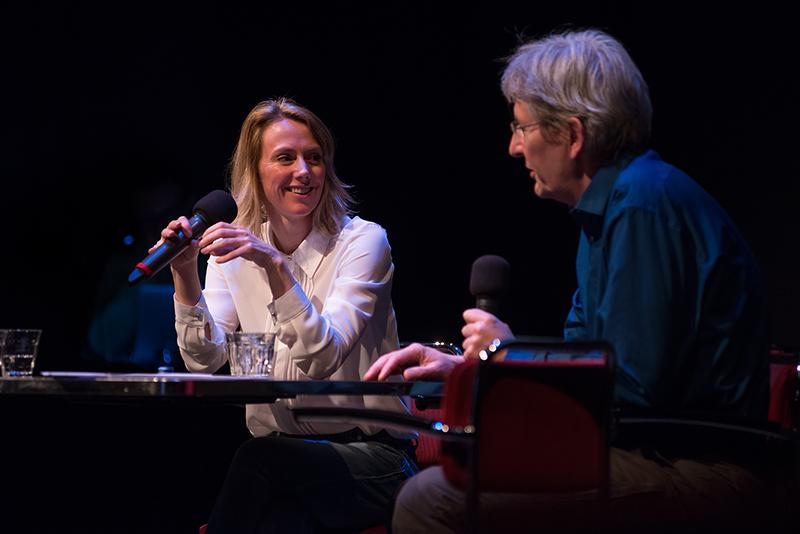 Renate Beense, Edie Peters - Foto Jim Gregory