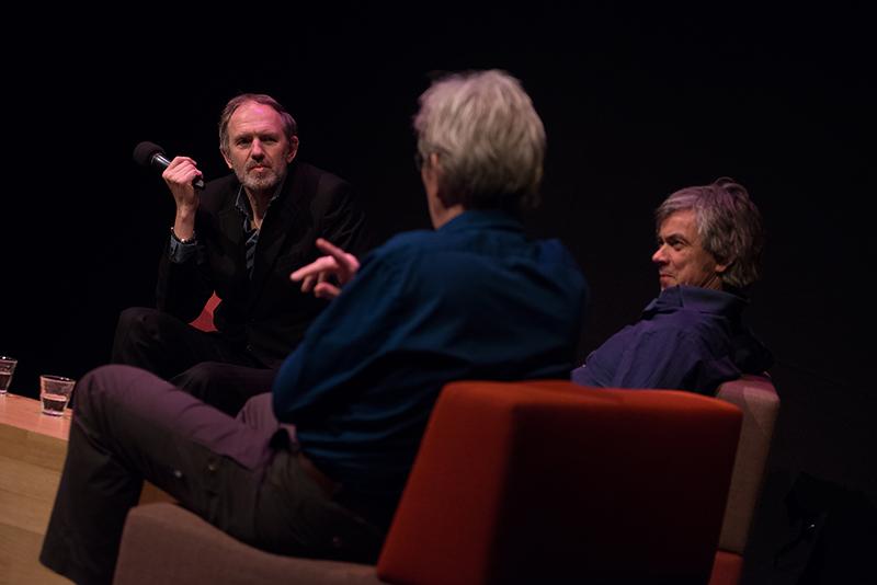 Anton Corbijn, Edie Peters, Carel van Hees - Foto Jim Gregory