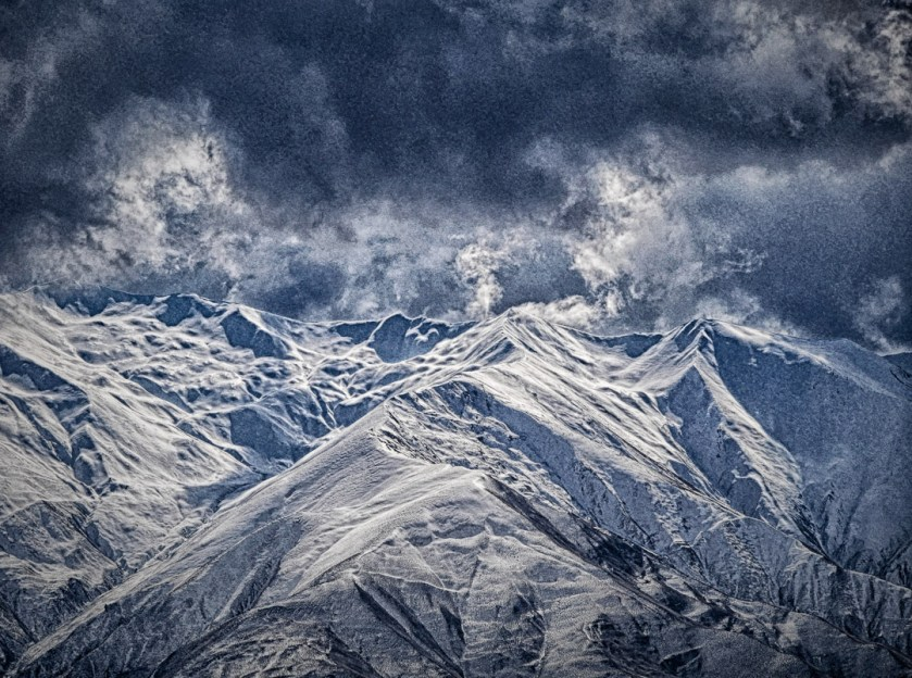 Cardrona Valley mountains in winter