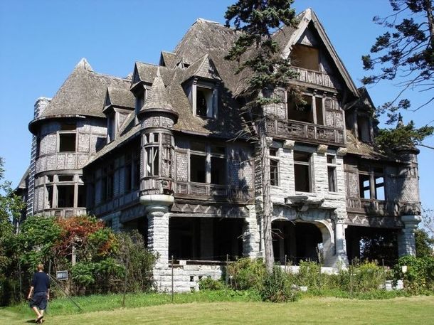 Beautiful Abandoned Mansion Currently For Sale In Carleton