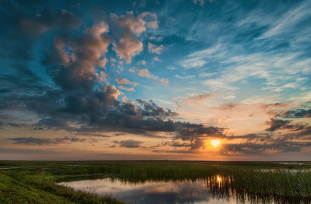 Fall Mountains Hd Wallpaper 13 Beautiful Sunset Over The Florida Everglades Photorator