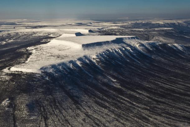 King Falls Am Wallpaper Putorana Plateau Siberian Traps Region Unknown