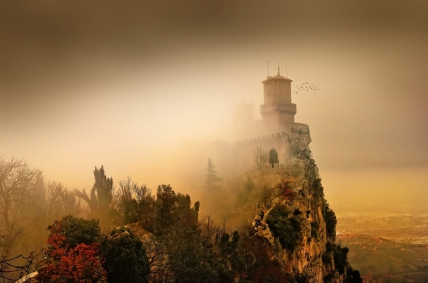 The Guaita Fortress on Monte Titano San Marino  Photorator
