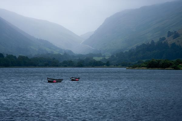 Photo of lake Tal-y-Llyn near Tywyn on the coast of Wales. Taken in July 2008.