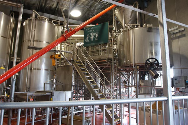 Where the beer gets made...