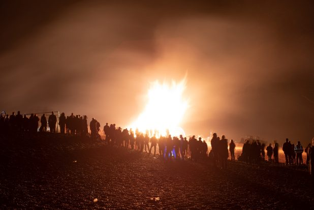 bonfire 50mm night photography
