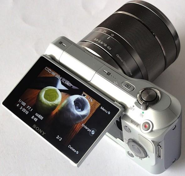 Sony NX 3 3 590x562 Here is the new Sony EVIL NEX 3 (freshly  leaked)