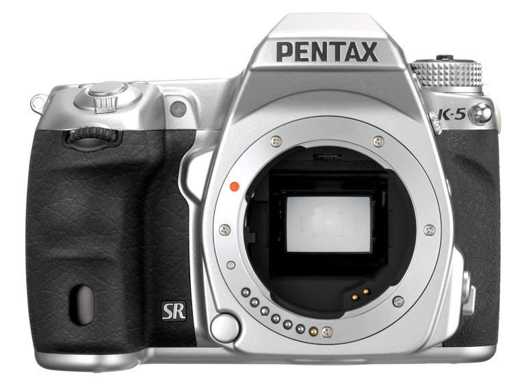 pentax k 5 silver front Pentax K 5 Silver leaked