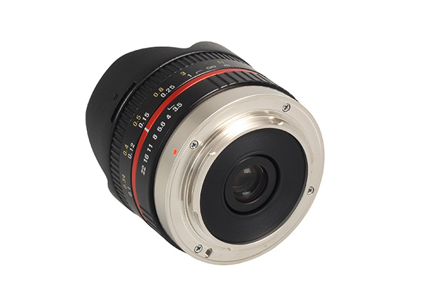 Samyang 75mm F35 UMC Fish eye MFT
