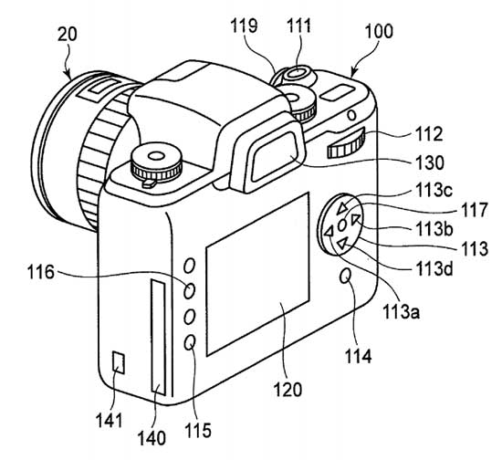 The latest patents from Canon, Panasonic and Pentax
