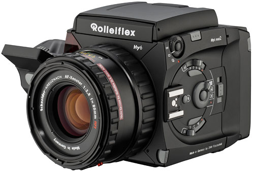 New cameras from Rolleiflex: Hy6 Mod2 and FX N