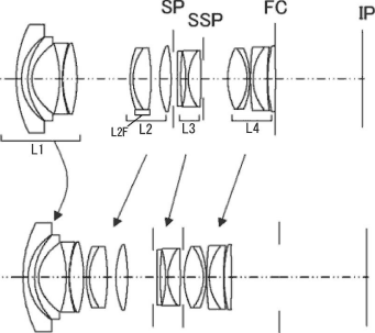 The latest Canon lens patents: 16-35mm f/2.8, 17-40mm f/4