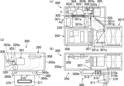 Panasonic patented an external hybrid (EVF and OVF