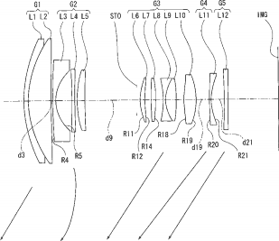 Canon 10mm f/2.8L USM full frame lens and other patents