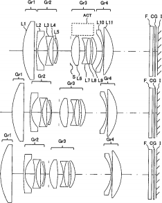 The latest patents from Canon, Panasonic and Konica