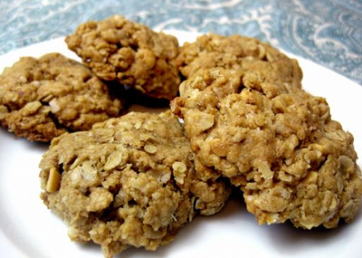 Oatmeal Peanut Butter Protein Cookies **Low Fat/ Carb