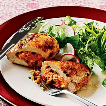 Low Carb Stuffed Chicken Recipes | SparkRecipes