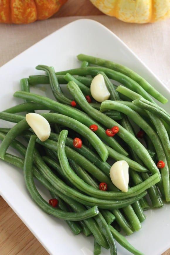 Microwave Garlic Green Bean Recipe Catch My Party