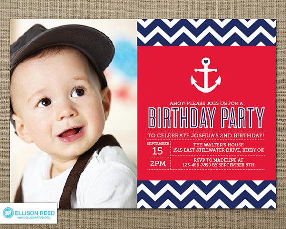 best nautical 1st birthday party