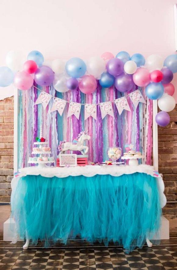Unicorn Candy Table Ideas : unicorn, candy, table, ideas, Unicorn, Party, Ideas, Catch