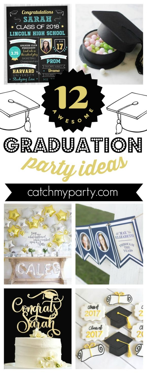 12 awesome graduation party