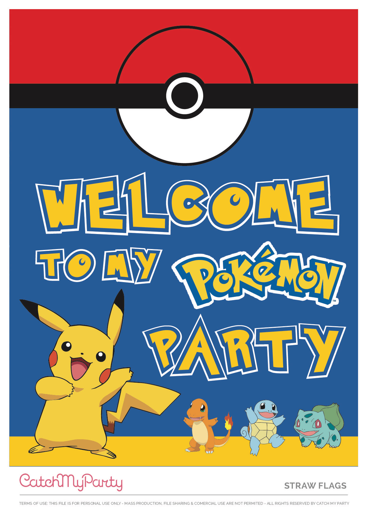 download these free pokemon printables