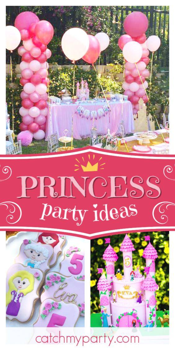 Fiesta de cumpleaños de princesa