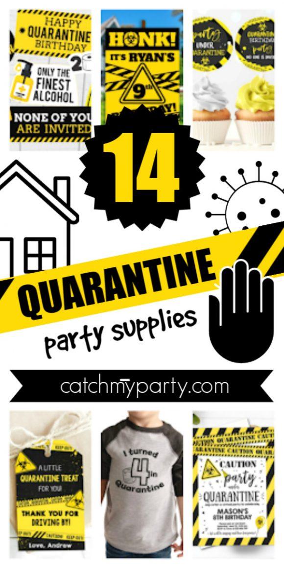 best quarantine party supplies
