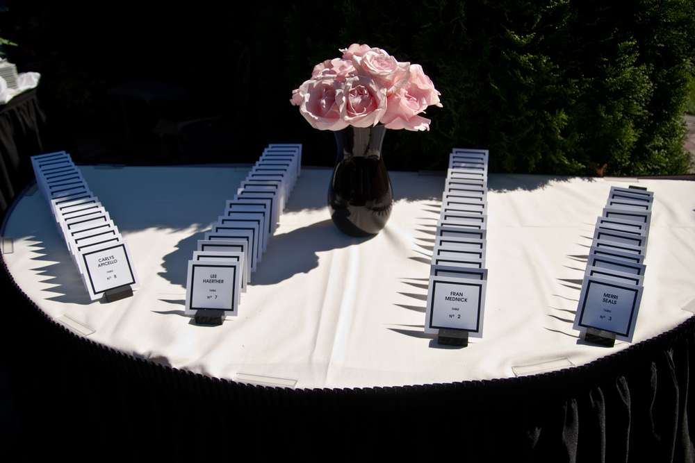 Coco Chanel Baby Shower Party Ideas Photo 3 Of 22