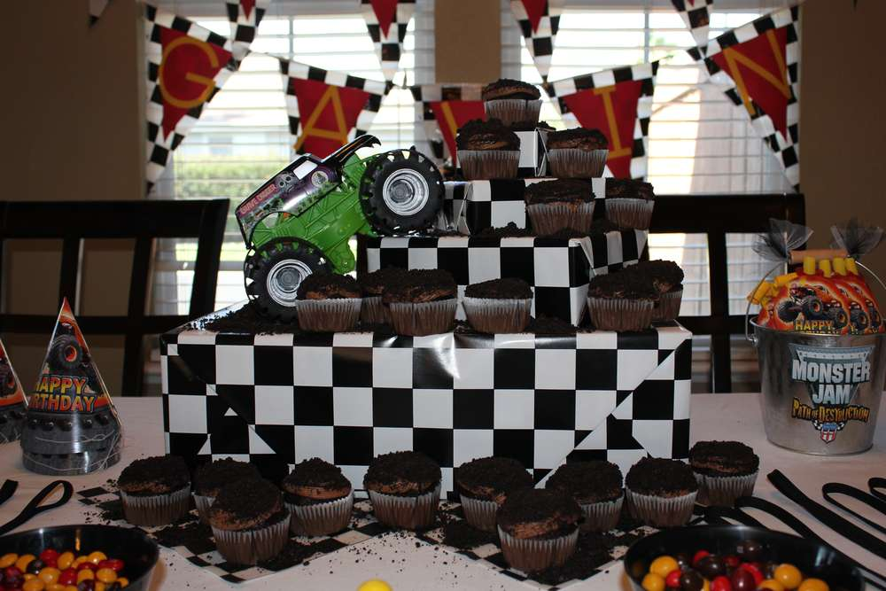 monster truck birthday party ideas