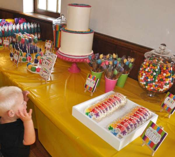 Arts & Crafts Birthday Party Ideas 9 Of 56 Catch
