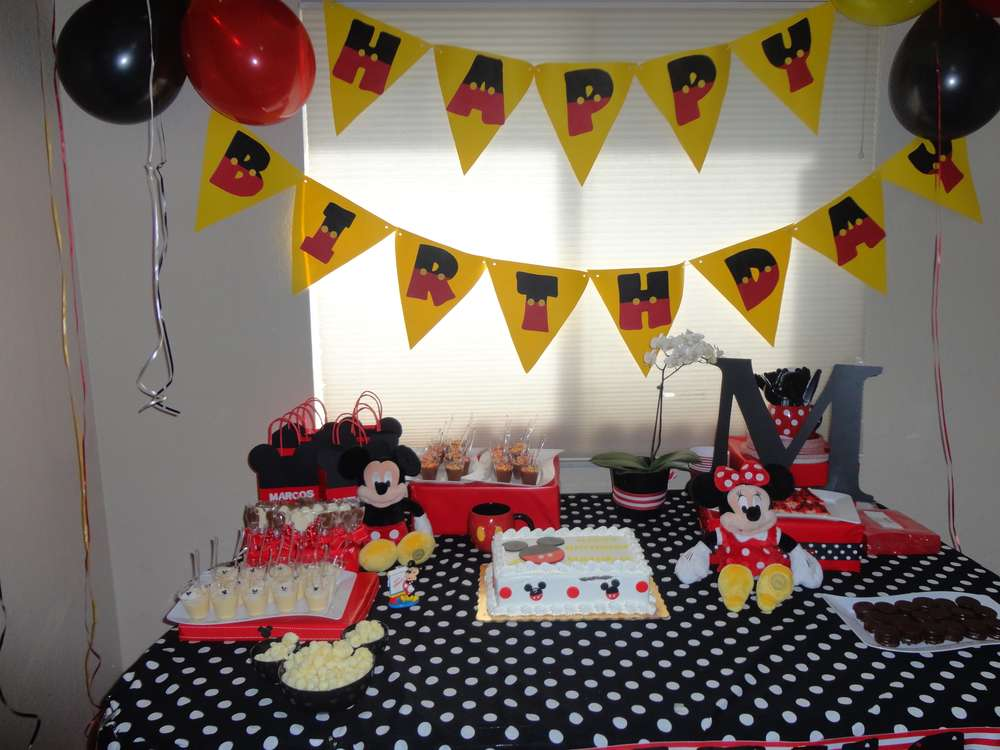 Mickey Mouse Club House Birthday Party Ideas Photo 2 Of 13